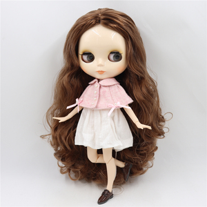 Image 5 - ICY DBS blythe Doll toy joint body bjd white skin shiny face 1/6 toy 30cm in vendita offerta speciale