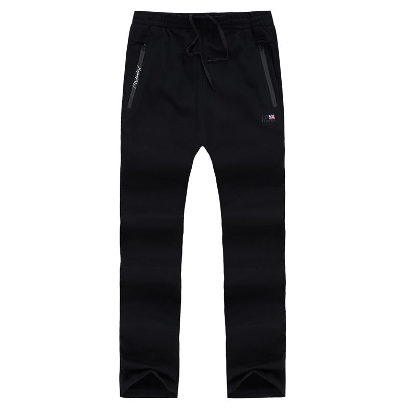 Sweatpants Men Straight Drawstring Sportswear Track Pants Male Tracksuit Sweat Pants Trousers Jogger Pants Plus Size For 130KG