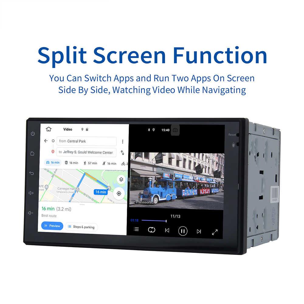 """Dasaita 7 """"IPS Display della Radio Auto Android 10.0 Universale 2 Din HDMI Navigatore GPS 1080P Video 64GB ROM MAX10"""