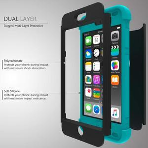 Image 2 - Ударопрочный чехол для iPod Touch 7/Touch 6, ударопрочный защитный чехол с двойным слоем из жесткого поликарбоната и силикона