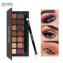 купить IMAGIC Eyeshadow Palette 14 Colors Eyes Shimmer Matte Eyeshadow Makeup Light Eye Shadow Long-lasting Palette Shades With Brush по цене 537.98 рублей