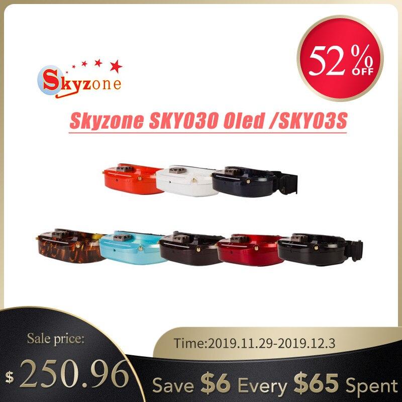 Skyzone SKY03O O светодиодный/SKY03S/SKY02C/SKY02X 5,8 ГГц 48CH разнообразие FPV очки для радиоуправляемого дрона Accs OSD DVR HDMI и светодиодный вентилятор