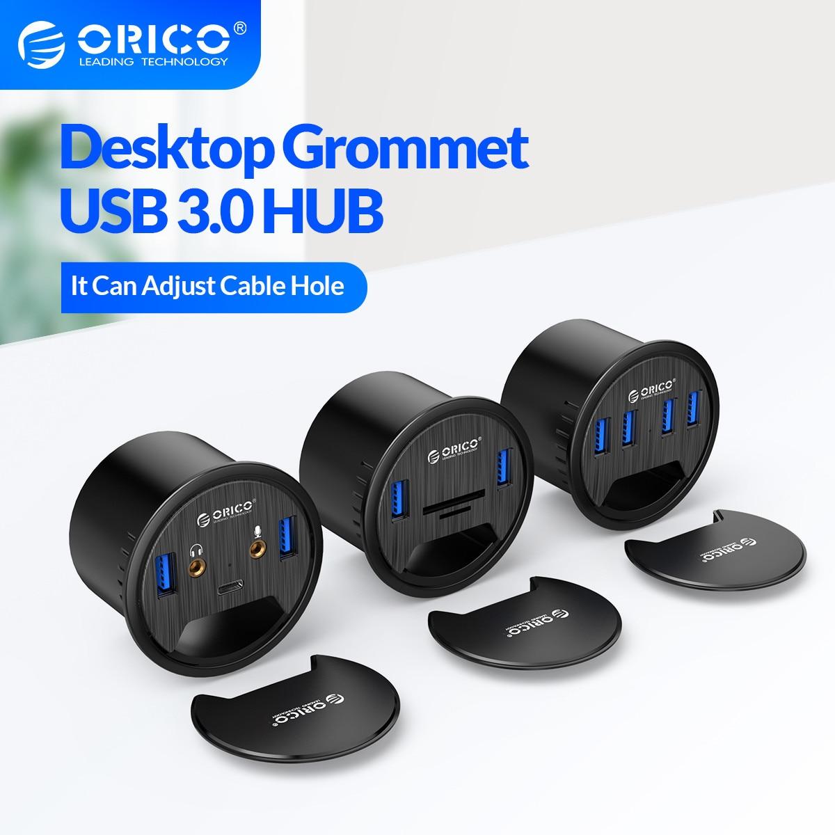 Hub USB do biurka ORICO USB 3.0 HUB za $11.99 / ~44zł