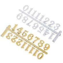 DIY часы цифровые части цифры восстановление древних способов цифровые аксессуары кварцевые часы механизм для ремонта часов