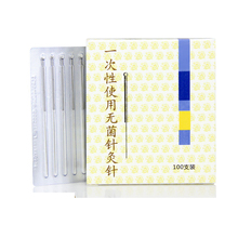 100pcs Multi Sizes Acupuncture Needle Disposable Sterile Chinese Acupuncture Needles Therapy Face