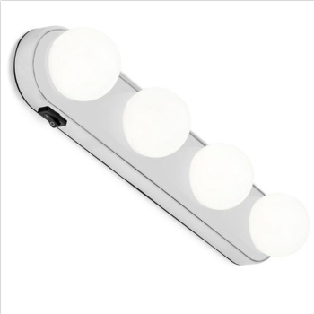 Makeup  Wall Lamp Kit For Dressing Table Hollywood Vanity Mirror Light suction cup battery power supply pf9099 5