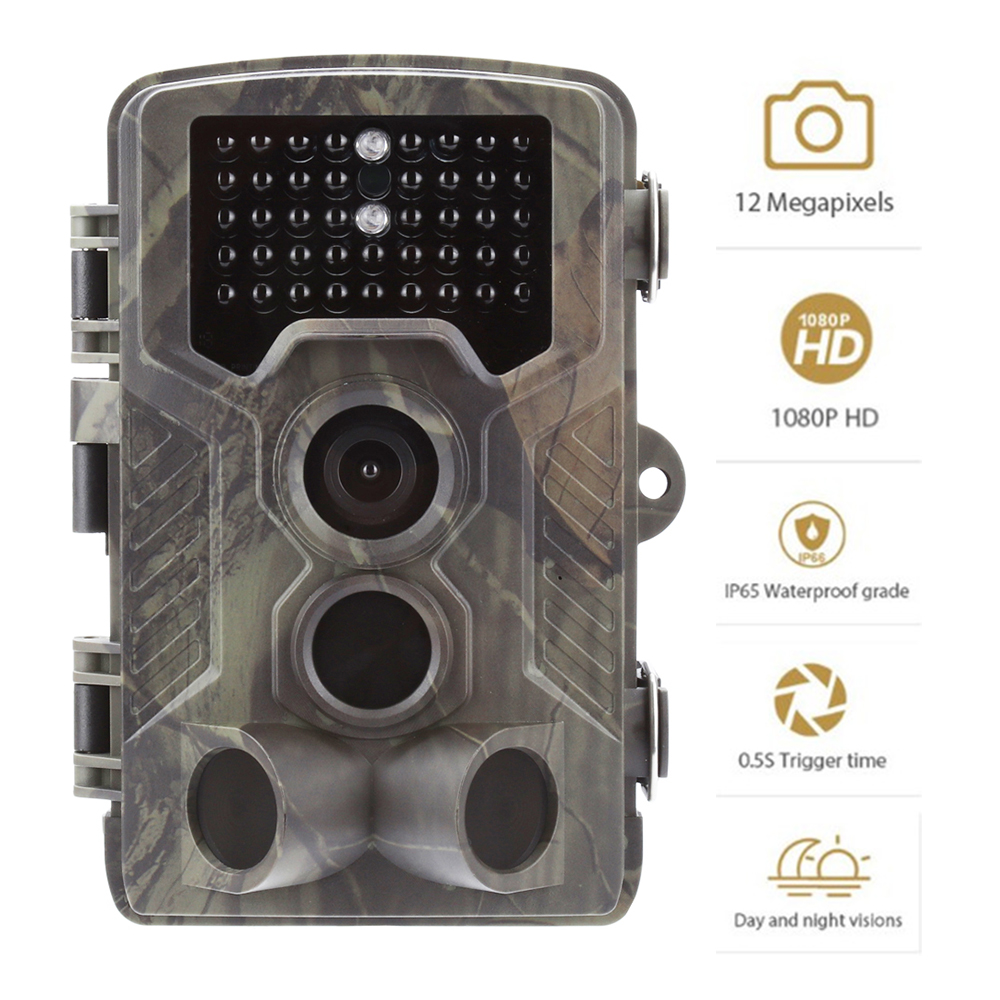 Image 5 - Goujxcy Trail Camera HC800A IP65 Waterproof forest Hunting Camera Night Vision Infrared LED Wildlife Camera Photo Traps scouts-in Hunting Cameras from Sports & Entertainment