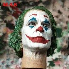 1/6 Joker Joaquin Phoenix rzeźba głowy rzeźbione DC 2019 Fit Toy center CEN-M13