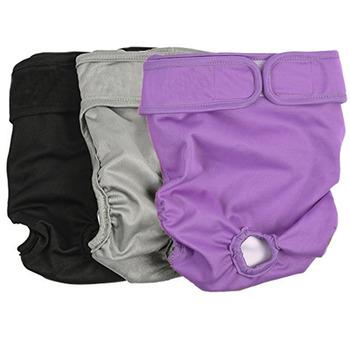 XS-XL pieluchy dla psów spodnie fizjologiczne sanitarne zmywalne kobiece majtki szorty solidna bielizna majtki dla psów pieluchy Perro tanie i dobre opinie CN (pochodzenie) 100 bawełna wszystkie pory roku Stałe breathable and comfortabl Hand wash Machine wash Elastic tail