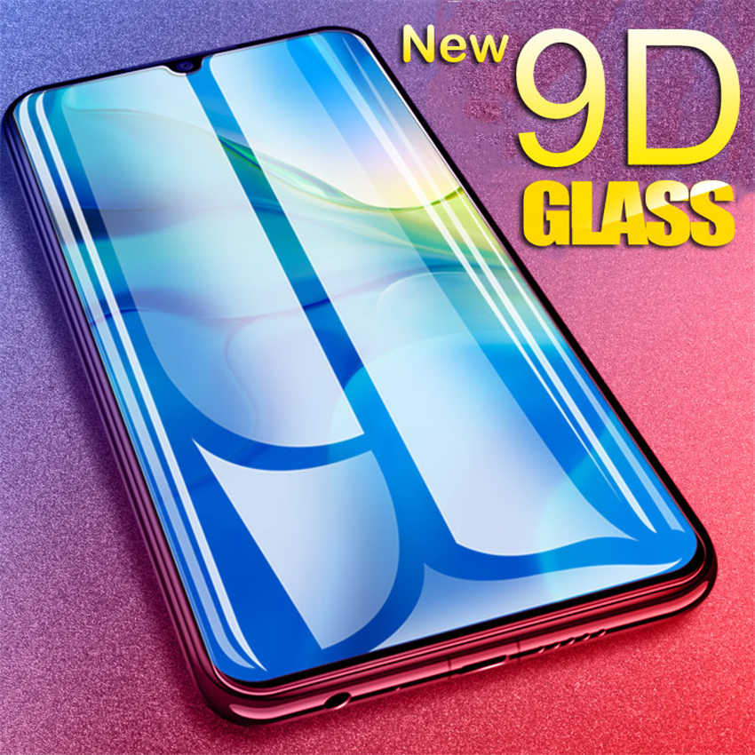 Full Cover Tempered Glass On The For Huawei honor 10 8 9 Lite V10 V20 Screen Protector For honor 8X 8A 8C 9X View 20 Glass Film image