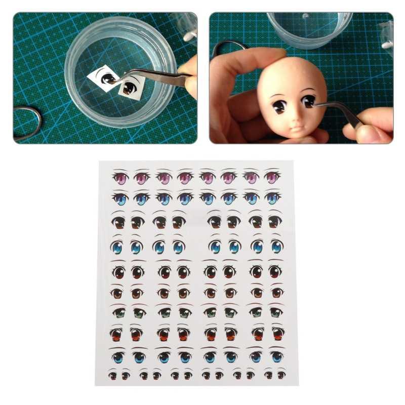 100 stücke Fischköder Augen Augen Aufkleber DIY Puppe Augen Simulation