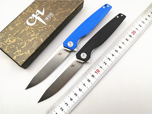 Image 1 - Couteau pliant D2 CH 3007/3507 avec roulement à billes, manche G10, couteau pour le Camping, la chasse, le plein air, de poche, de survie, EDC