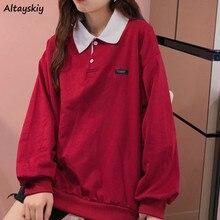Sudaderas holgadas con capucha de manga larga estampadas para mujer, sudaderas estilo coreano BF Ulzzang, ropa de calle a la moda, comodidad Vintage para mujer