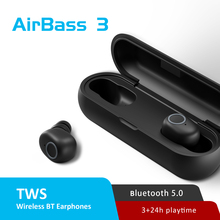 Instock LEAGOO TWS A3/AirBass A3 kablosuz kulaklık ses kontrolü Bluetooth 5.0 gürültü azaltma musluk kontrolü