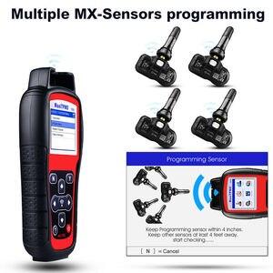 Image 4 - Autel TS508K narzędzie diagnostyczne TPMS, czujnik TPMS sprawdź stan systemu TPMS, Program mx czujniki przeprowadzić TPMS Relearn TS508 VS TS401