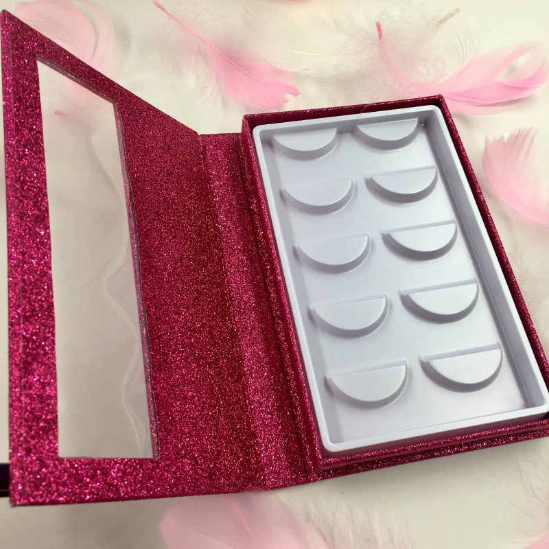 5 Pairs Lashes Book With White Tray 6pcs/lot Multi Colors Eyelash Packaging Box