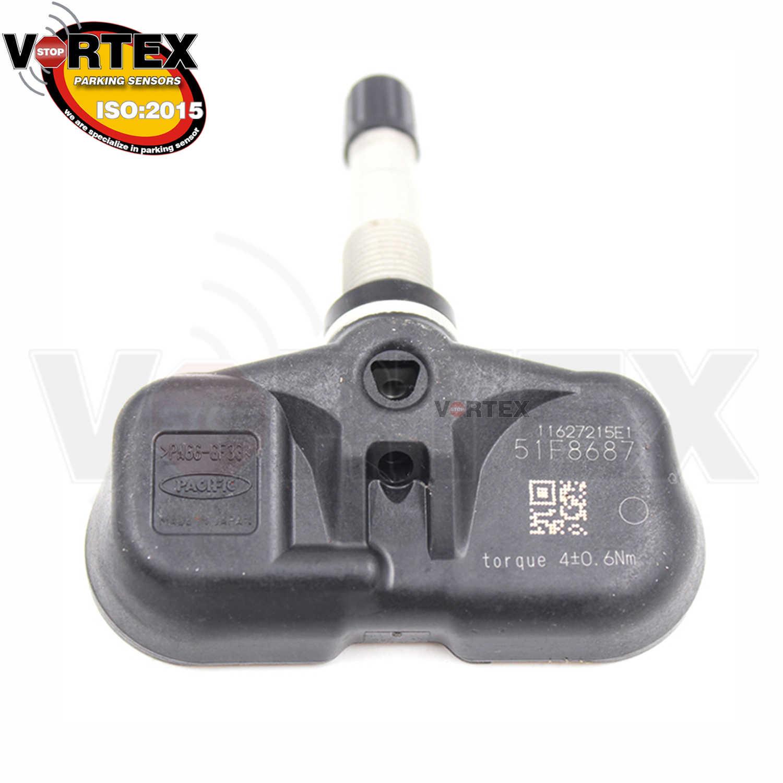 4 Pcs433MHz Ban Tekanan Monitor Sensor TPMS untuk Lexus GX470 GS450H GS430 GS300 OE #42607-75010