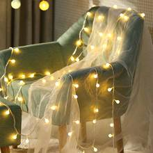 YINUO LIGHT Christmas Lights 10m 7.5m 6m 4.5m LED String Light USB Waterproof Fairy For Party Wedding Holiday