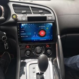 Image 3 - الروبوت 10 مشغل أسطوانات للسيارة مشغل وسائط متعددة GPS لبيجو 3008 2009 2010 2011 2012 2013 2015 2018 الصوت راديو تلقائي ستيريو والملاحة