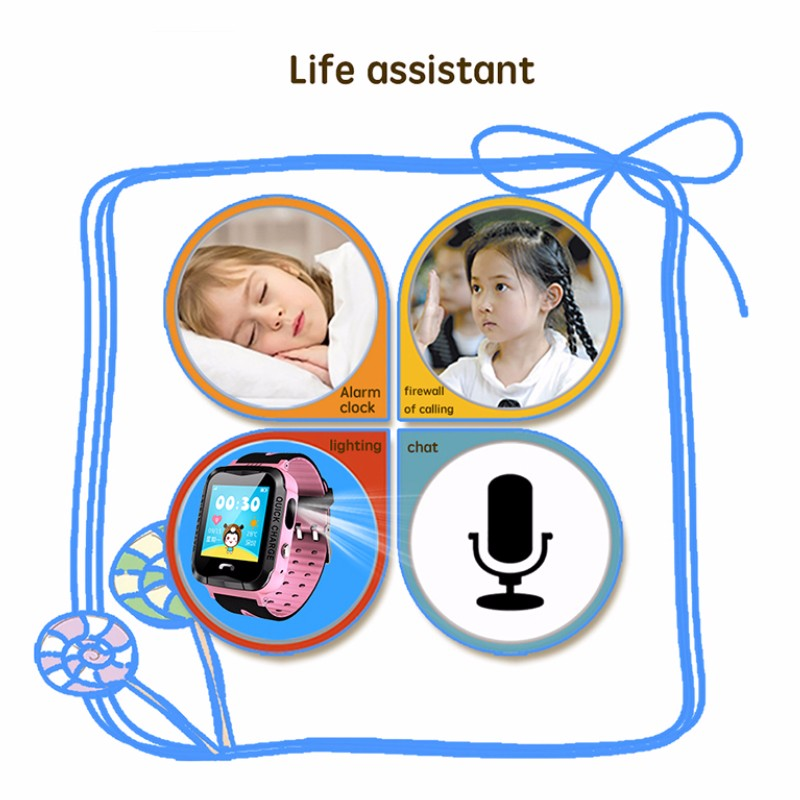 Hea0fbb69f9354089927c4637e1a4944fR - GPS kids Smart Watch Phone Position Children Watch 1.22 inch Color Touch Screen WIFI SOS Tracker Smart Baby Watch IOS & Android