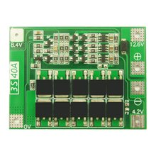 цена на 3 series 40A Li-ion Lithium Battery 18650 Charger PCB BMS Protection Board with Balance For Drill Motor Lipo Cell Module
