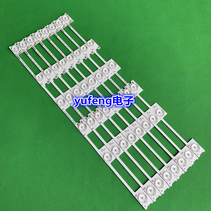 30PCS/Lot 100% New LED Strip Bar Backlight For KONKA KDL48JT618A KDL48SS618U 35018539 35018540 6 LED Light (6 V) 442mm