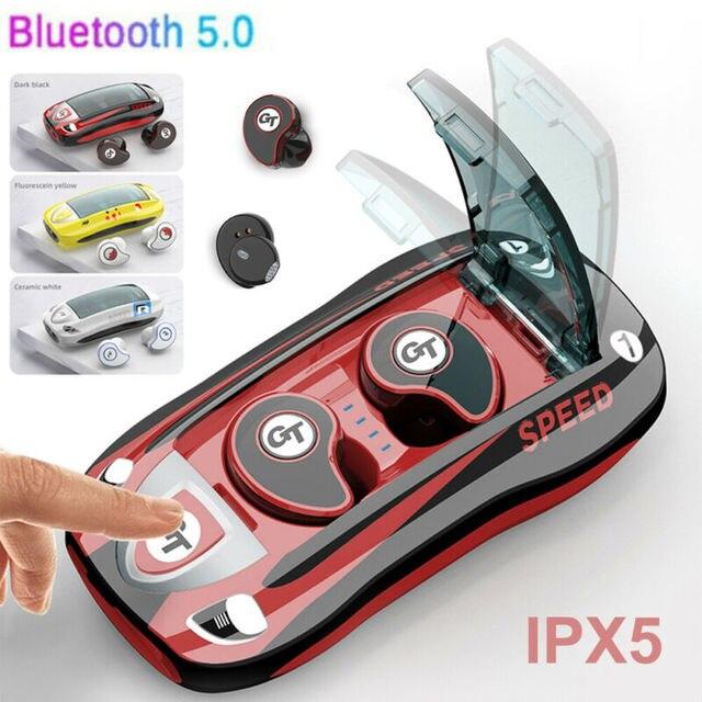 Bluetooth 5.0 Headset TWS Wireless Earphones Mini Earbuds Stereo Sport Music Headphones