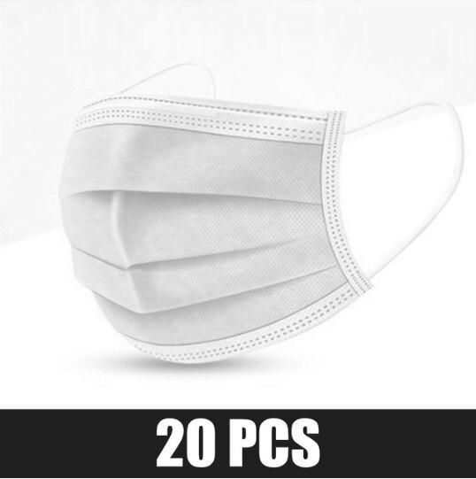 20pcs White