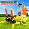 Air Power Step Pump Jump Stomp Rocket Outdoor Garden Sport Board Games Adjustable Launcher Kids Toys For Children Gift Basketbal