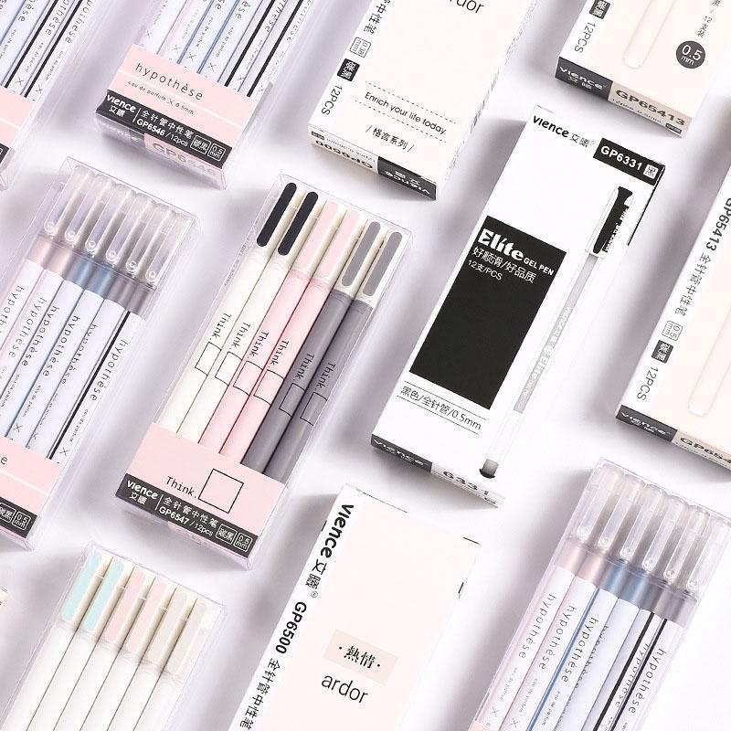 3 шт. 0,5 мм гелевые ручки для детей подарок для девочек школьные канцелярские принадлежности гелевые ручки для рисования Инструменты ручка, ...