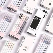 3 pçs 0.5mm gel canetas para crianças meninas presente escola material de escritório artigos de papelaria gel canetas escrita desenho ferramentas caneta estudante presente