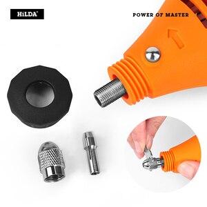 Image 2 - HILDA Elektrische Bohrer Dremel Schleifer Gravur Stift Mini Bohrer Elektrische Dreh Werkzeug Schleifen Maschine Dremel Zubehör Power Tool