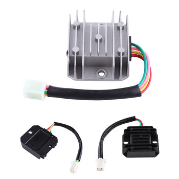 Universal Motorcycle Voltage Stabilizer Regulator Current Rectifier ATV Scooter 4 Wires Pins 12V AVR Autostabilizer