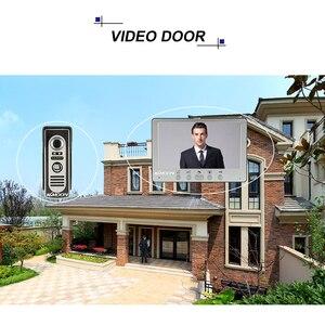 Image 5 - KKmoon sistema de intercomunicación Visual con cámara IR para exteriores, videoportero con cable TFT LCD de 7 pulgadas, intercomunicador con cámara IR impermeable para exteriores