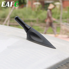EAFC araba anten çatı 3.5cm kısa gelişmiş sinyal karbon Fiber vida Metal kısa güdük direk anten Benz için Mazda honda