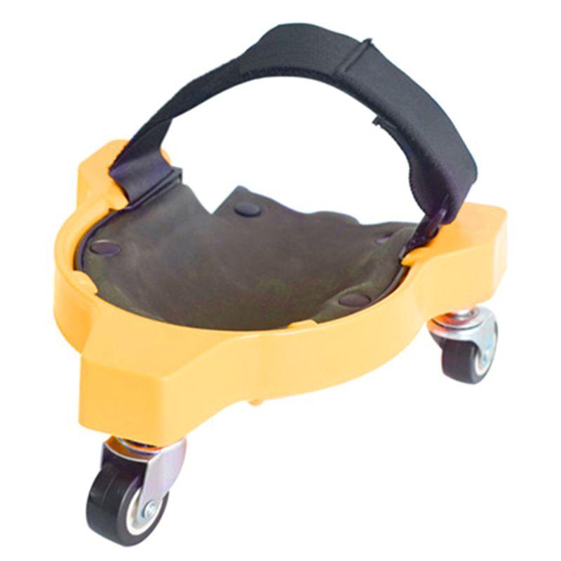 Multifuncional universal roda polia joelho almofada protetor construção piso de trabalho 964e-0