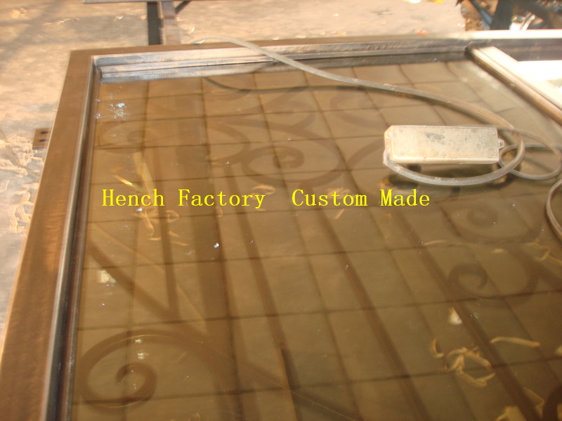 Shanghai Hench Brand China Factory 100% Custom Made Sale Australia Hdb Wrought Iron Gate
