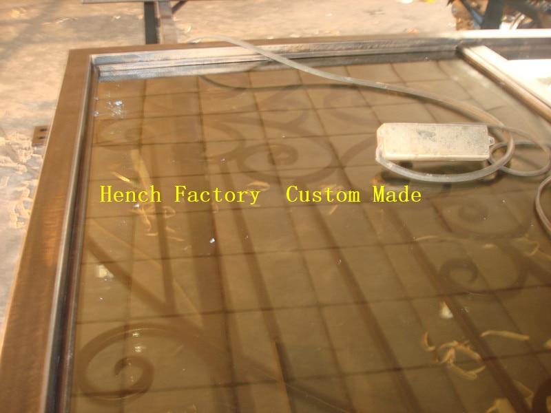 Shanghai Hench Brand China Factory 100% Custom Made Sale Australia Hdb Wrought Iron Gate
