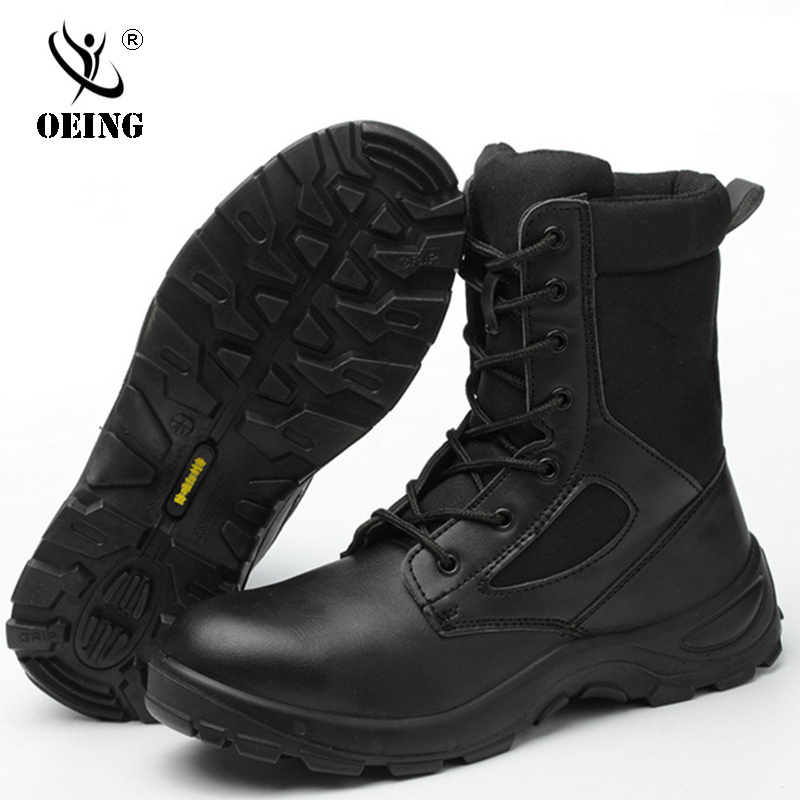 2019 Winter Autumn Men Military Boots Quality Special Force Tactical Desert Combat Ankle Boats Army Work Shoes Casual Snow Boots
