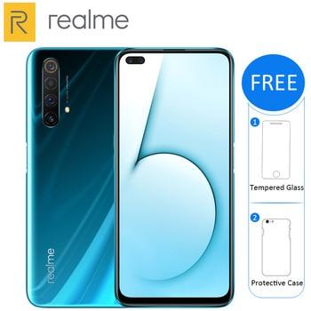 "Realme X50 5G Mobile Phone 256GB /128GB ROM 12GB /8GB RAM 6.57"" Snapdragon 765G Quad main camera 64MP 4200mAh NFC 5G Smartphone"