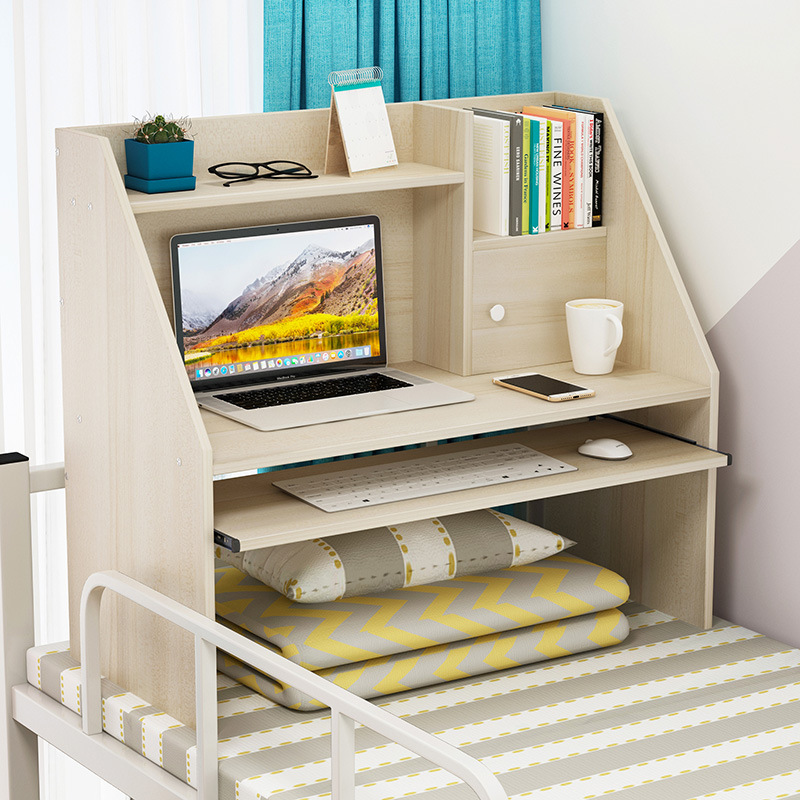 Bed Desk Laptop Table College Student Dormitory Upper Berth Bunk Dormitory Simple Small Table Lazy Desk