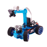 Yahboom STM32 visual inspection line smart car robot independent steering servo with camera tracking hunt RC car