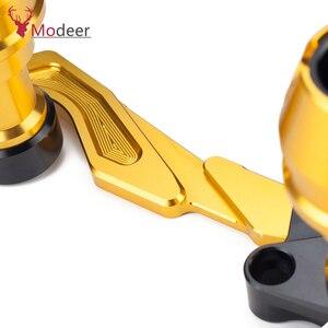 Image 3 - Modificado xmax traseiro protetor slider acidente guarda eixo traseiro silenciador tubo quadro caindo sliders para yamaha x max 300 400 125 250