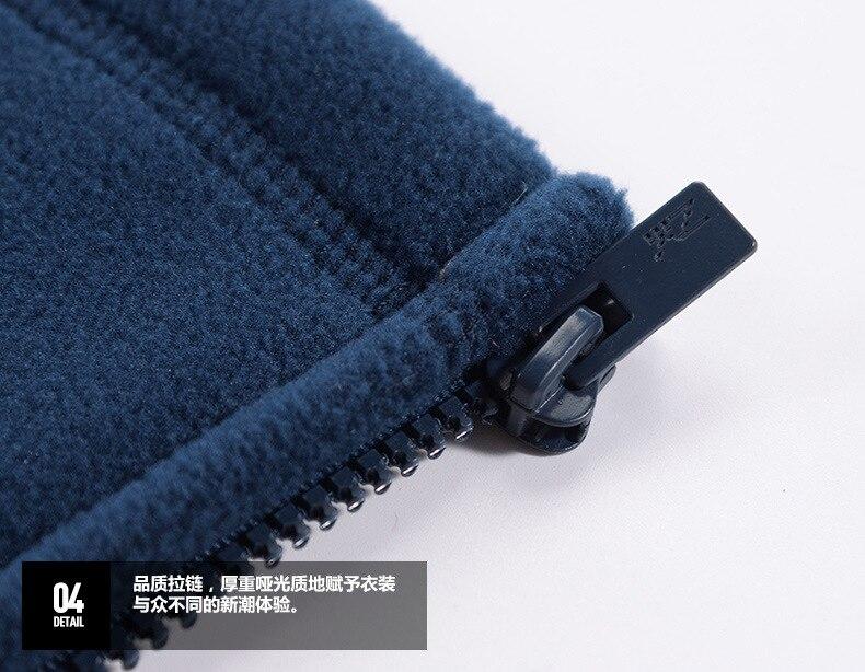8xl casaco térmico de lã inverno ao