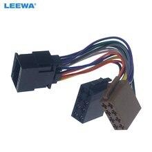 Adaptador De Tomada de Conversão de Rádio Estéreo Do Carro Para Chery Chevrolet LEEWA 16PIN Para Unidades de Cabeça Cablagem ISO Original # CA6207