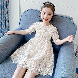 Платья для девочек летнее платье принцессы с короткими рукавами Детские платья для девочек, вечерние костюмы Одежда для детей 3, 4, 6, 8, 10, 12 ле...
