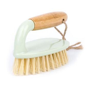 Household Multifunctional Wooden Handle Cleaning Brush Tile Foor Washing Tub Toilet Kitchen Decontamination Scrubber 1