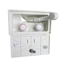 RV внешняя для вечеринки коробка с замком-включает в себя смеситель для душа, шланг для душа, палочка для душа для лодки/Camper автодома/Караван Аксессуары