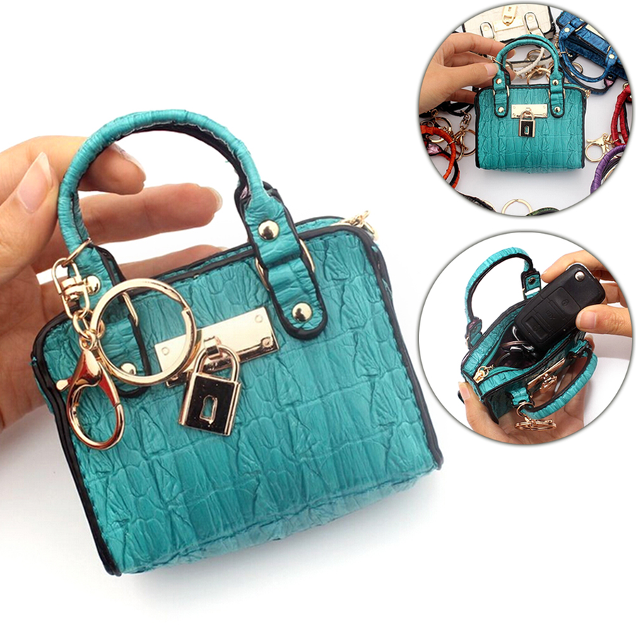 Vintage Lady Key Card Holder Female Money Package Small Fany Pouch Women Clutch Coin Purses Mini Handbag Model Change Purse 2019