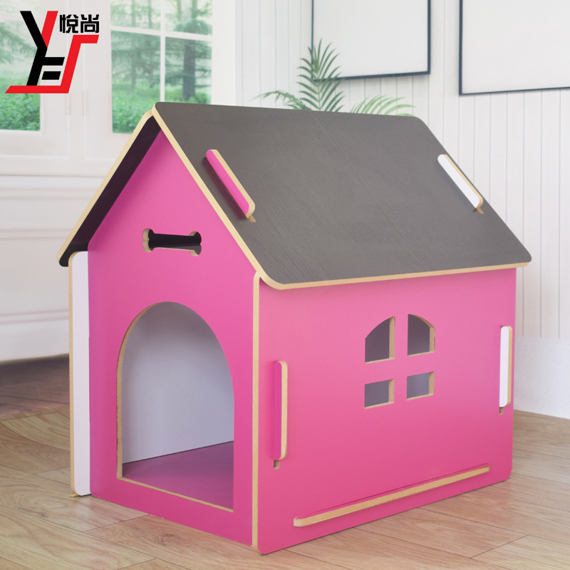 pet supplies <font><b>dog</b></font> <font><b>kennel</b></font> Small pet house wood <font><b>dog</b></font> bed <font><b>kennel</b></font> luxury outdoor <font><b>dog</b></font> house homevsupplies best selling image